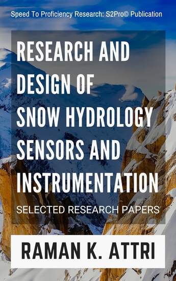 Research and Design of Snow Hydrology Sensors and Instrumentation - Selected Research Papers - cover