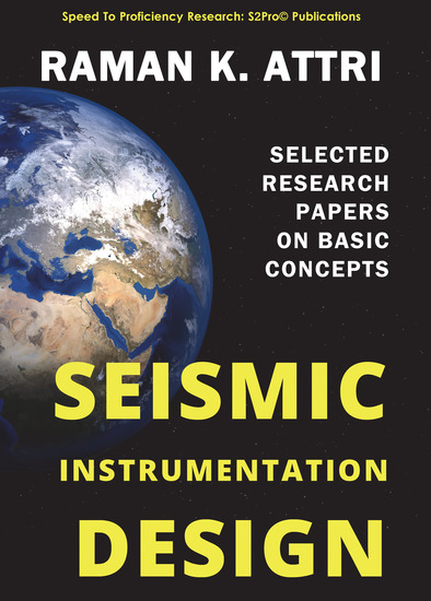 Seismic Instrumentation Design - Selected Research Papers on Basic Concepts - cover