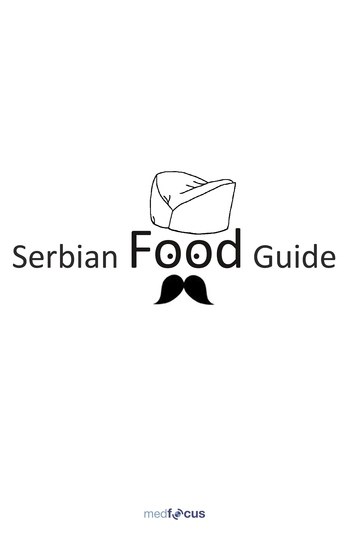 Serbian Food Guide - cover