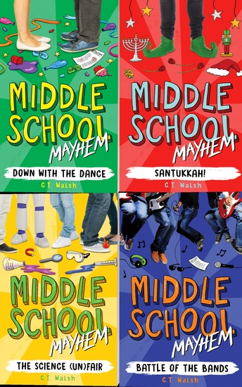 Middle School Mayhem Box Set Books 1-4 - Books 1-4 - cover