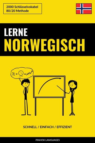 Lerne Norwegisch - Schnell Einfach Effizient - 2000 Schlüsselvokabel - cover