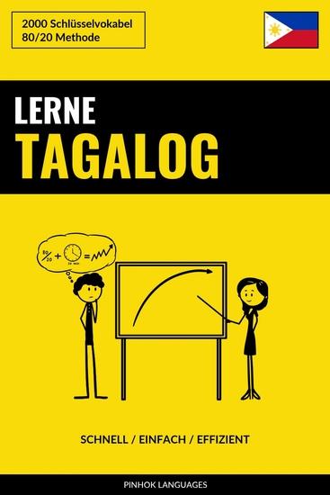Lerne Tagalog - Schnell Einfach Effizient - 2000 Schlüsselvokabel - cover