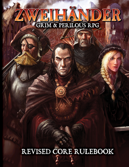 ZWEIHANDER Grim & Perilous RPG - Revised Core Rulebook - cover