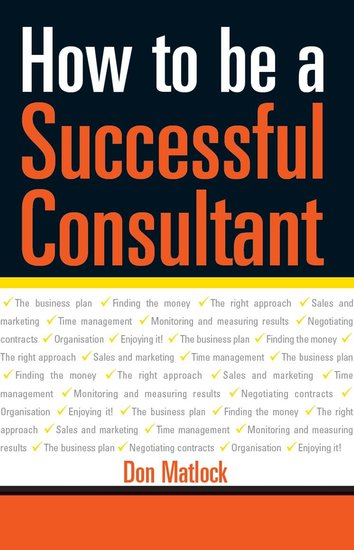 How to Be a Successful Consultant - cover