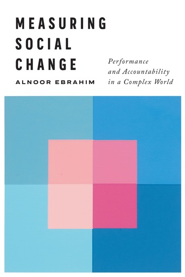 Measuring Social Change - Performance and Accountability in a Complex World - cover