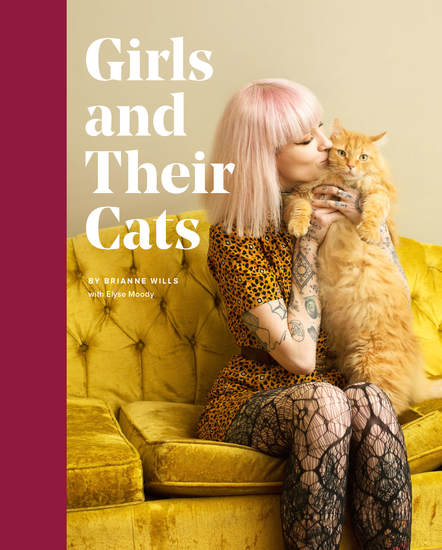 Girls and Their Cats - cover