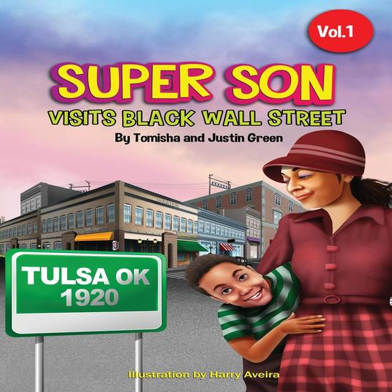 Super Son - visits Black Wall Street - cover