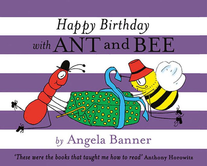 Happy Birthday with Ant and Bee - cover