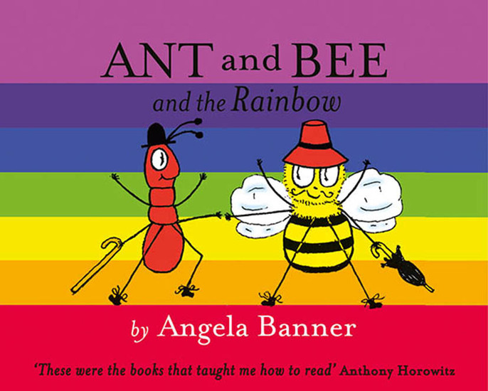 Ant and Bee and the Rainbow - cover