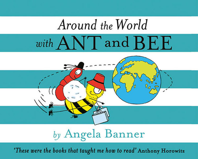 Around the World With Ant and Bee - cover