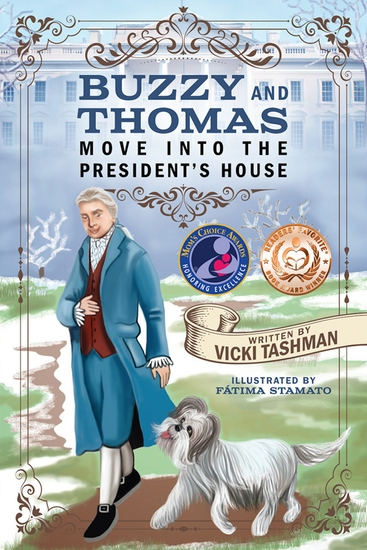 Buzzy and Thomas Move Into the President's House - cover