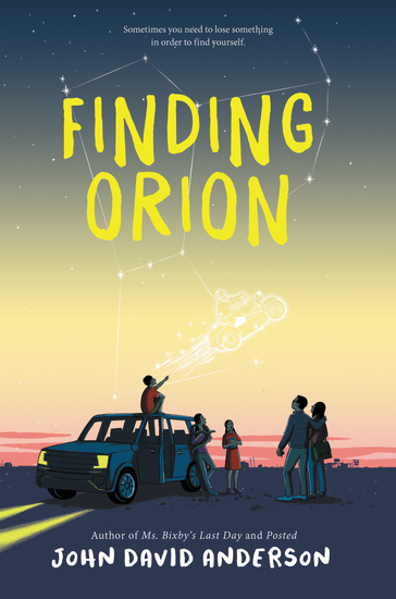 Finding Orion - cover