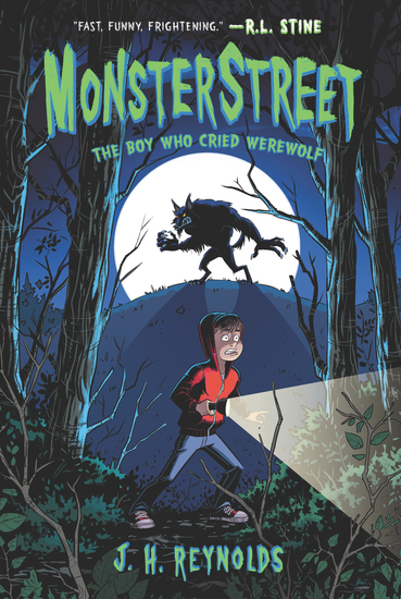 Monsterstreet #1: The Boy Who Cried Werewolf - cover