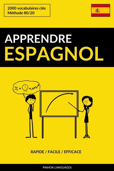 Apprendre l'espagnol - Rapide Facile Efficace - 2000 vocabulaires clés - cover