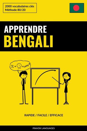 Apprendre le bengali - Rapide Facile Efficace - 2000 vocabulaires clés - cover