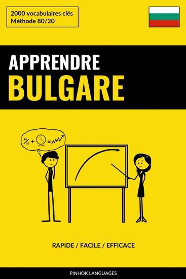 Apprendre le bulgare - Rapide Facile Efficace - 2000 vocabulaires clés - cover