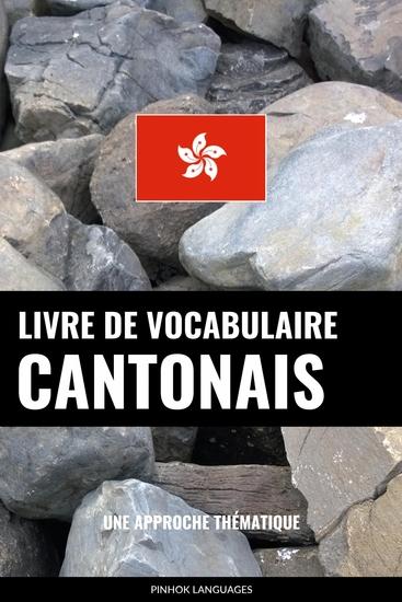 Livre de vocabulaire cantonais - Une approche thématique - cover