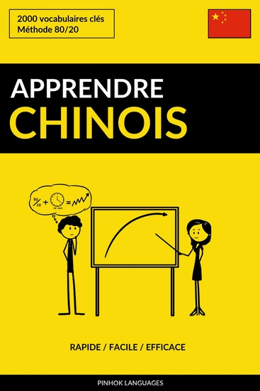 Apprendre le chinois - Rapide Facile Efficace - 2000 vocabulaires clés - cover