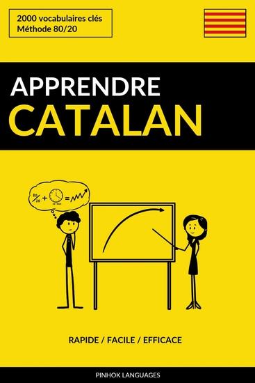 Apprendre le catalan - Rapide Facile Efficace - 2000 vocabulaires clés - cover