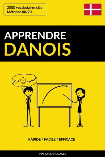 Apprendre le danois - Rapide Facile Efficace - 2000 vocabulaires clés - cover