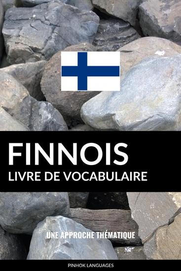 Livre de vocabulaire finnois - Une approche thématique - cover
