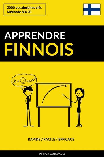 Apprendre le finnois - Rapide Facile Efficace - 2000 vocabulaires clés - cover