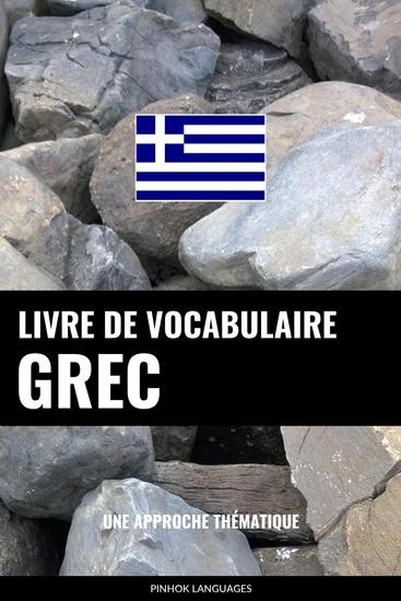 Livre de vocabulaire grec - Une approche thématique - cover