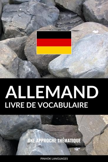 Livre de vocabulaire allemand - Une approche thématique - cover