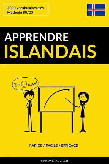 Apprendre l'islandais - Rapide Facile Efficace - 2000 vocabulaires clés - cover