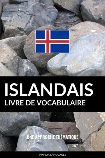 Livre de vocabulaire islandais - Une approche thématique - cover