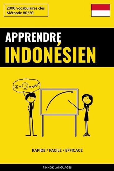 Apprendre l'indonésien - Rapide Facile Efficace - 2000 vocabulaires clés - cover