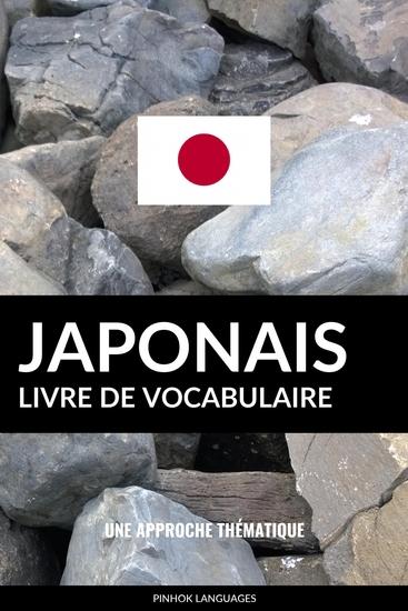 Livre de vocabulaire japonais - Une approche thématique - cover