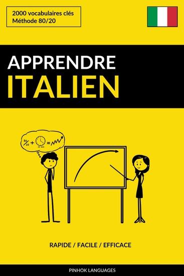 Apprendre l'italien - Rapide Facile Efficace - 2000 vocabulaires clés - cover