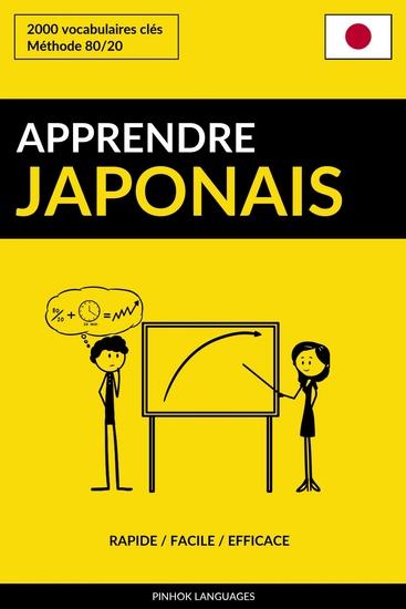 Apprendre le japonais - Rapide Facile Efficace - 2000 vocabulaires clés - cover
