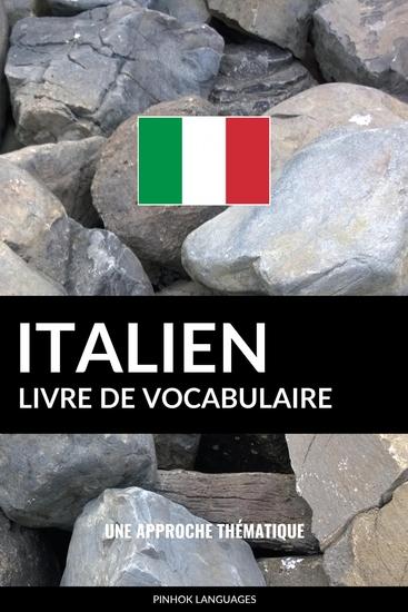 Livre de vocabulaire italien - Une approche thématique - cover