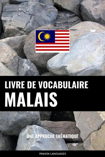 Livre de vocabulaire malais - Une approche thématique - cover