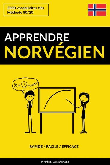 Apprendre le norvégien - Rapide Facile Efficace - 2000 vocabulaires clés - cover