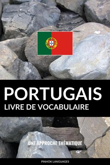 Livre de vocabulaire portugais - Une approche thématique - cover