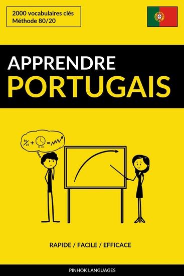 Apprendre le portugais - Rapide Facile Efficace - 2000 vocabulaires clés - cover