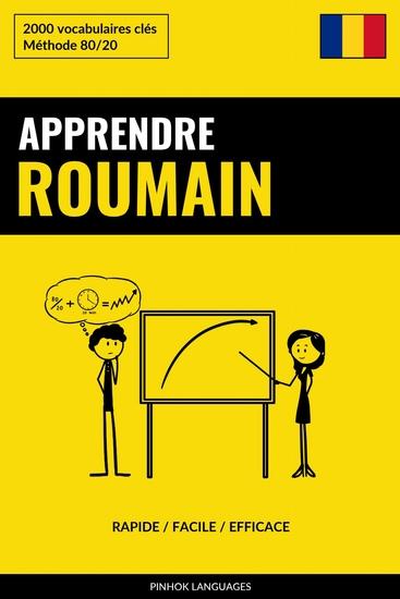 Apprendre le roumain - Rapide Facile Efficace - 2000 vocabulaires clés - cover