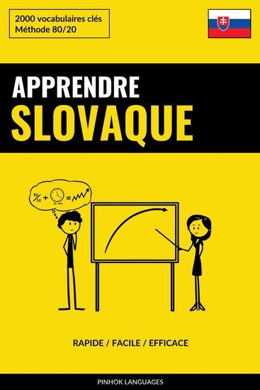 Apprendre le slovaque - Rapide Facile Efficace - 2000 vocabulaires clés - cover