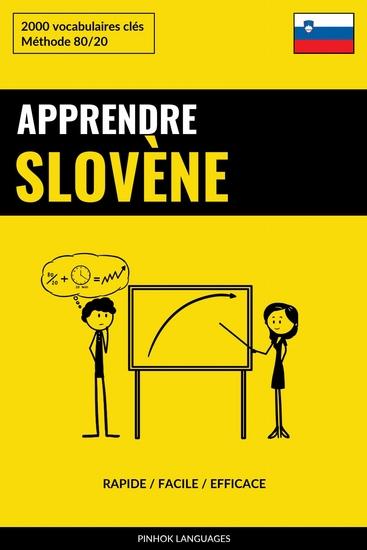 Apprendre le slovène - Rapide Facile Efficace - 2000 vocabulaires clés - cover