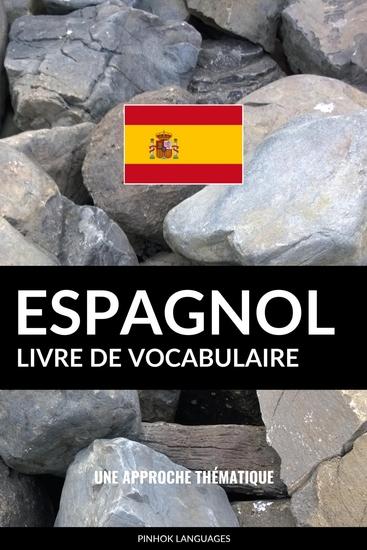 Livre de vocabulaire espagnol - Une approche thématique - cover