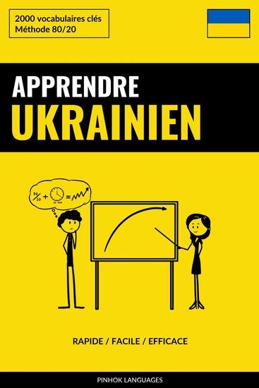 Apprendre l'ukrainien - Rapide Facile Efficace - 2000 vocabulaires clés - cover