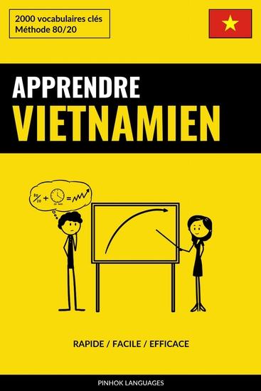Apprendre le vietnamien - Rapide Facile Efficace - 2000 vocabulaires clés - cover