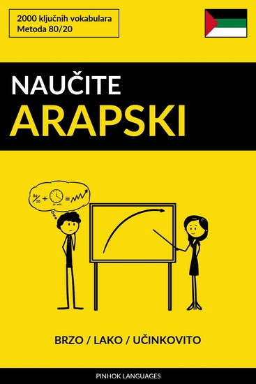 Naučite Arapski - Brzo Lako Učinkovito - 2000 ključnih vokabulara - cover