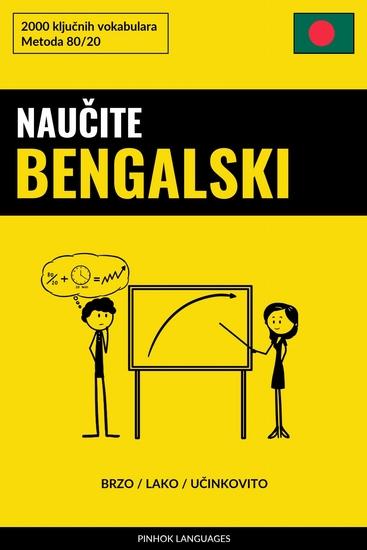 Naučite Bengalski - Brzo Lako Učinkovito - 2000 ključnih vokabulara - cover