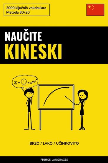 Naučite Kineski - Brzo Lako Učinkovito - 2000 ključnih vokabulara - cover