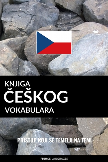 Knjiga češkog vokabulara - Pristup koji se temelji na temi - cover