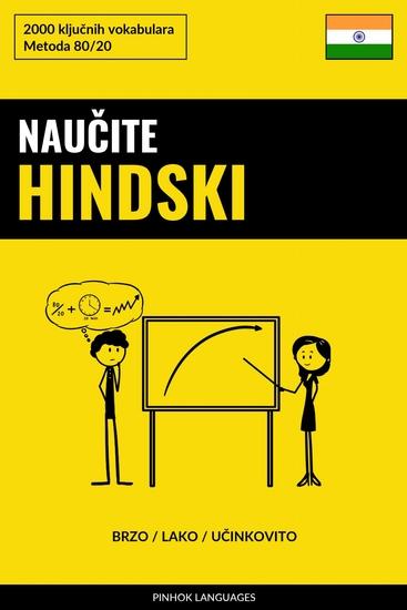 Naučite Hindski - Brzo Lako Učinkovito - 2000 ključnih vokabulara - cover